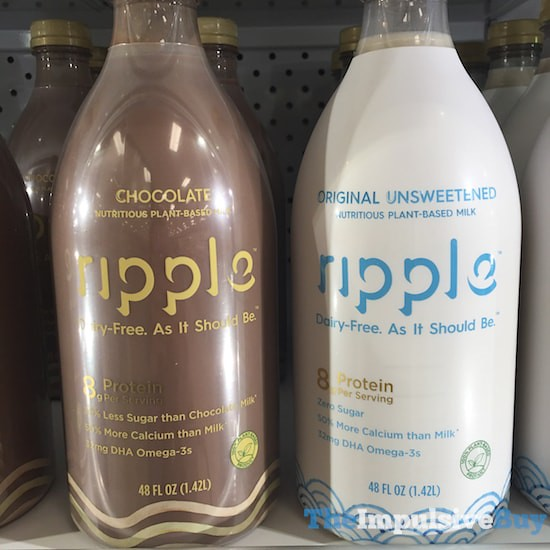 Ripple Plant-Based Milk (Chocolate and Original)