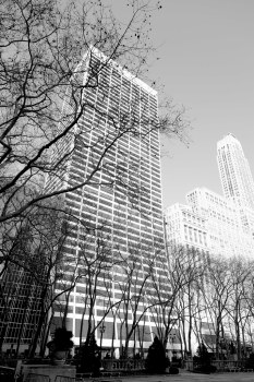 New York City : W. R. Grace Building from Bryant Park