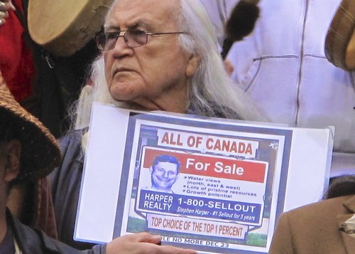 Canada For Sale #IdleNoMore Vancouver by rabble.ca