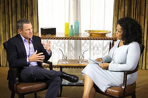 Entrevista de Lance Armstrong a Oprah Winfrey
