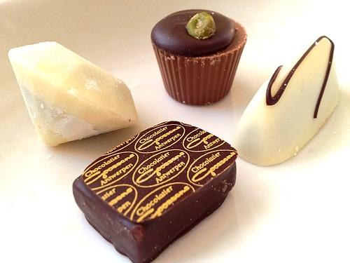 ゴーセンスのチョコレート(Chocolatier Goossens)