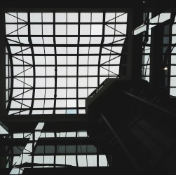 Market Square Looking Up - iPhone Photography Project #iPP