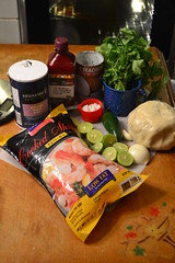 Shrimp Yuca Empanadas Ingredients