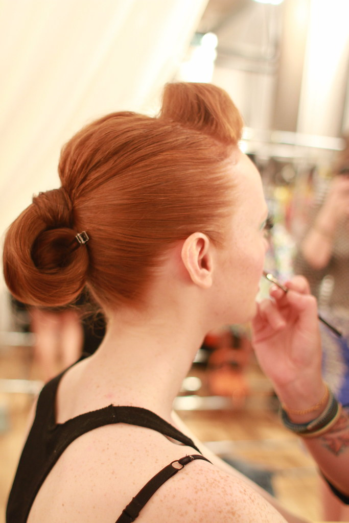 KATE SPADE S-S 2013 BACKSTAGE 028