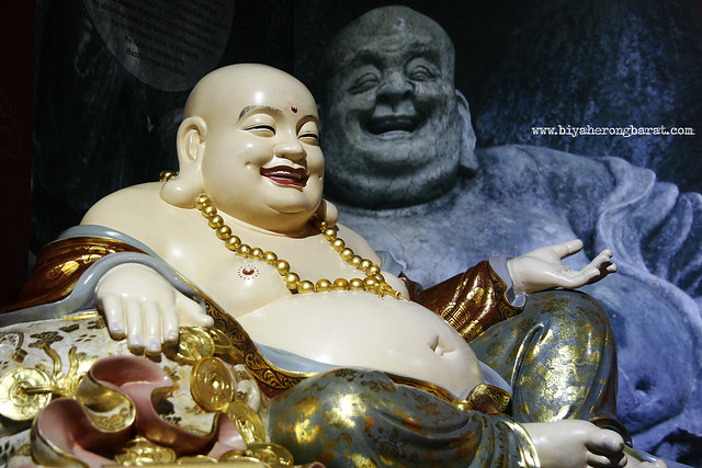 Budai Laughing Buddha Tooth Relic Temple China Town Singapore