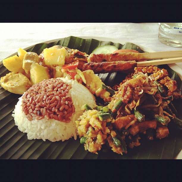 Yummy Balinese feast.