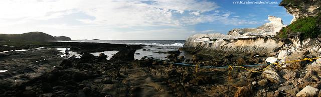 Kapurpurawan Rock Formations and West Philippine Sea Burgos Ilocos Norte