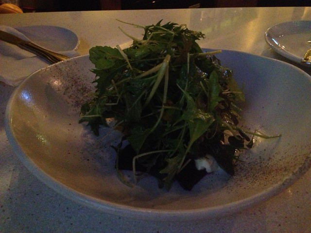Local beet salad - Salt Kitchen & Tasting Bar