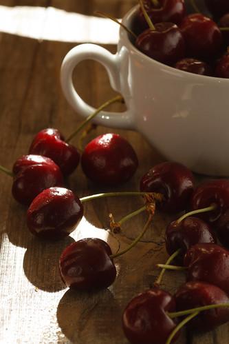 ...One cup of fresh cherries by Luiz L.