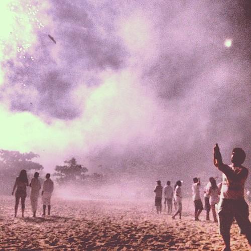 Champagne na praia #praia #beach #camburi #cambury #saopaulo #newyearseve #reveillon #champagne