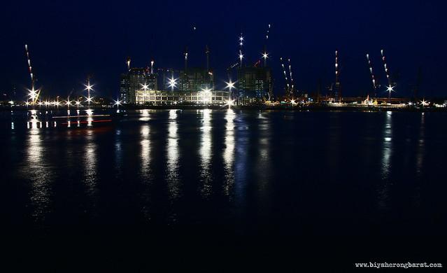 Marina Bay Sands under construction 2008