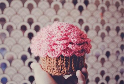 Patroon Cupcake Doosje