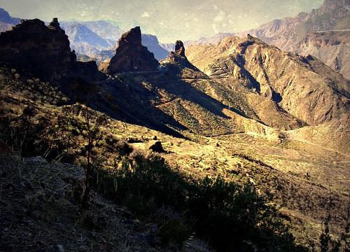 Gran Canaria - Berglandschaft im Landesinneren  , 3-13