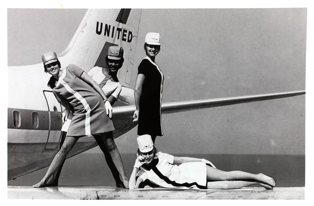 United Airlines Stewardesses [1968]
