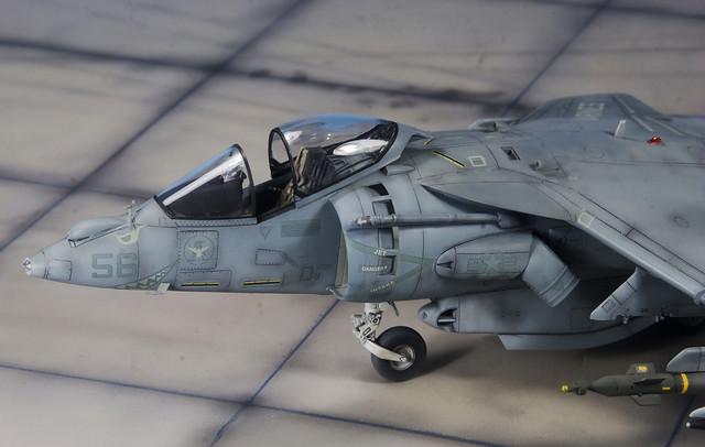 AV-8B Harrier II front section