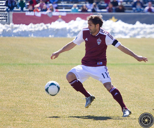 Brian Mullan, Colorado Rapids vs Philadelphia Union 10 March 2013 by Corbin Elliott Photography