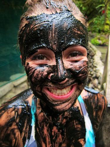 Muddy face