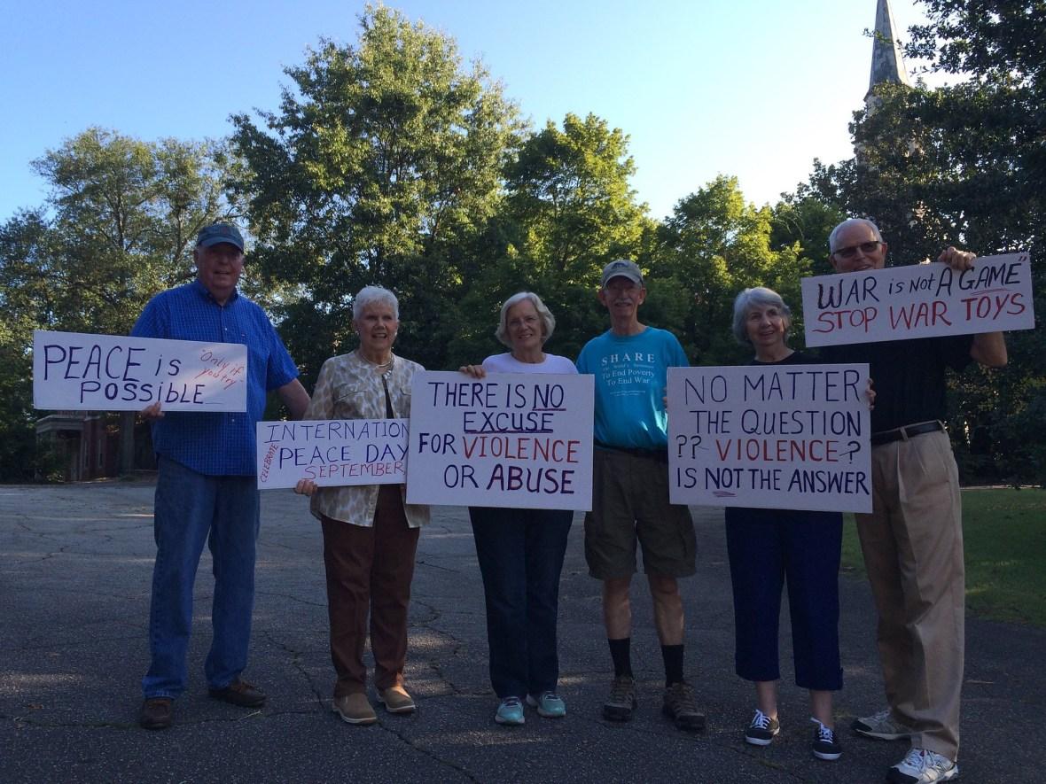 Atlanta,GA Peace Vigil -CNV 2016 (3)