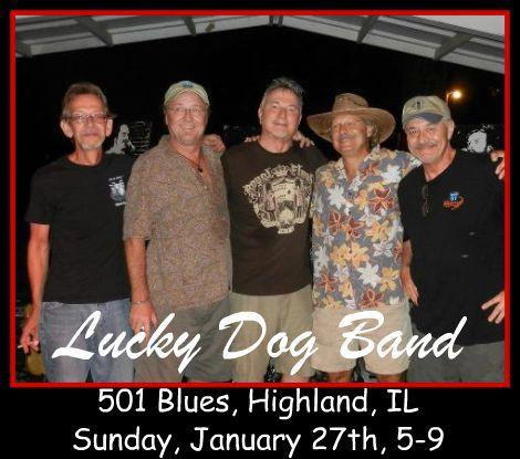 Lucky Dog Band 1-27-13