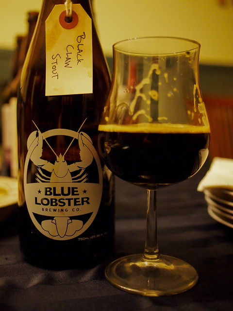 Black Claw Stout - Blue Lobster Brewing Company