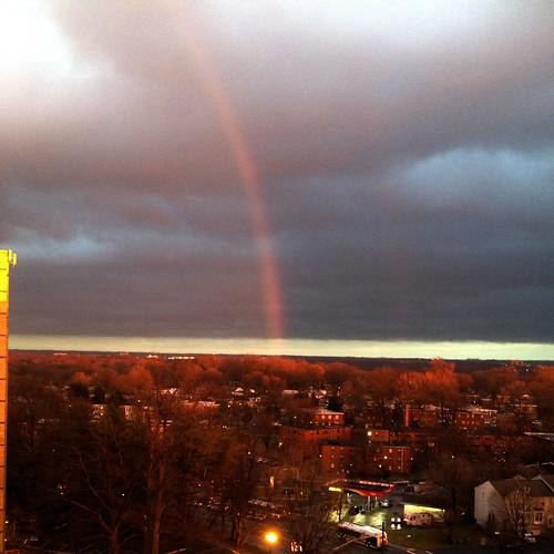Mid-winter rainbow.