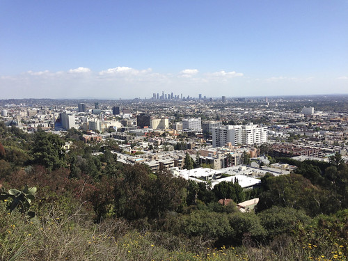 Los Angeles from Sunset Hills by Jujufilms