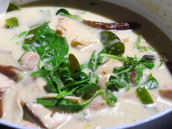 綠咖哩雞 (9)