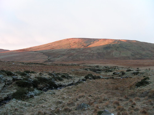 Sunrise catches Hesk Fell