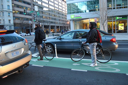 L Street Cycletrack Outreach