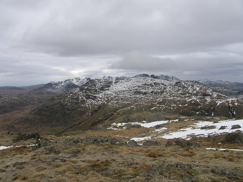 Scafells, Little Stand, Crinkles, Bowfell, Cold Pike