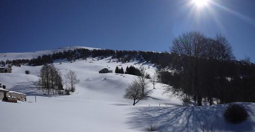 View of ortigara from Val da sacco