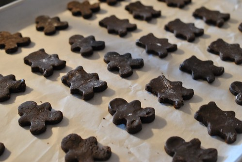 Brownie Cookie Cutouts