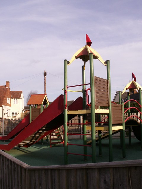 Weston-on-Trent playground