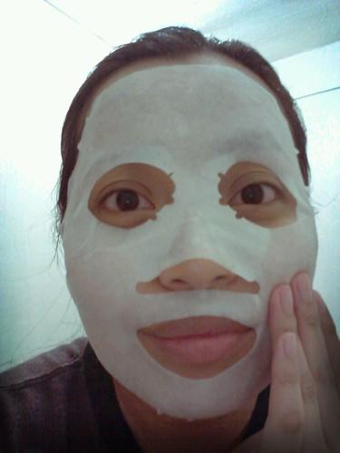 Shiseido mask!