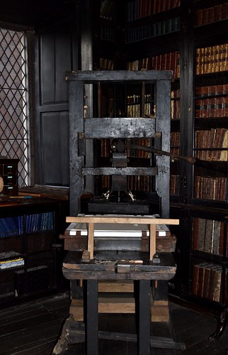 Bookbinding Press, Chetham's Library by Angela Seager