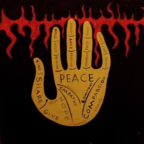peace & compassion by denise carbonell