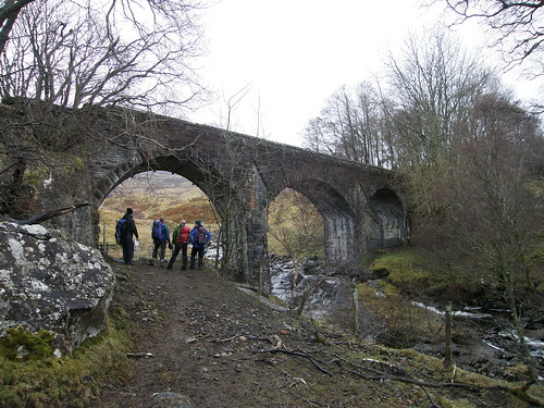 Viaduct on Callander and Oban Railway Line (disused)