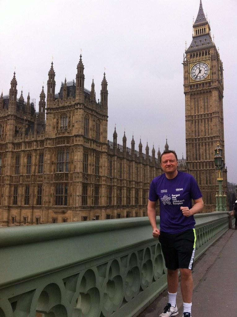 One Month to go until Jason's Marathon Effort