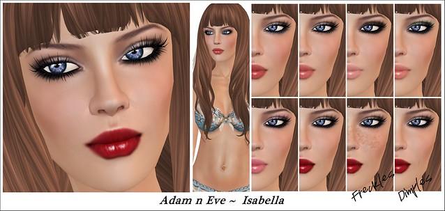 Adam n Eve ~ Isabella/Skin Fair 2013