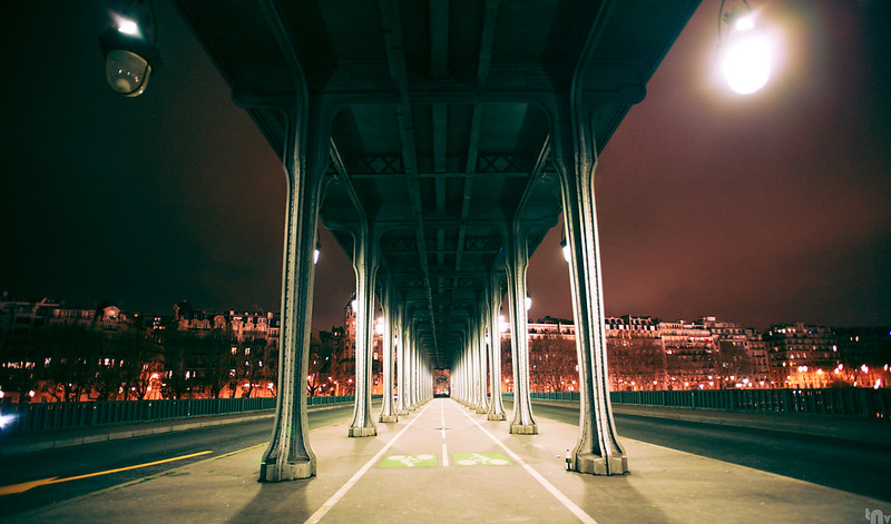 Paris by night - Pont de Bir-Hakeim