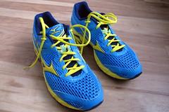 Shiny new shoes