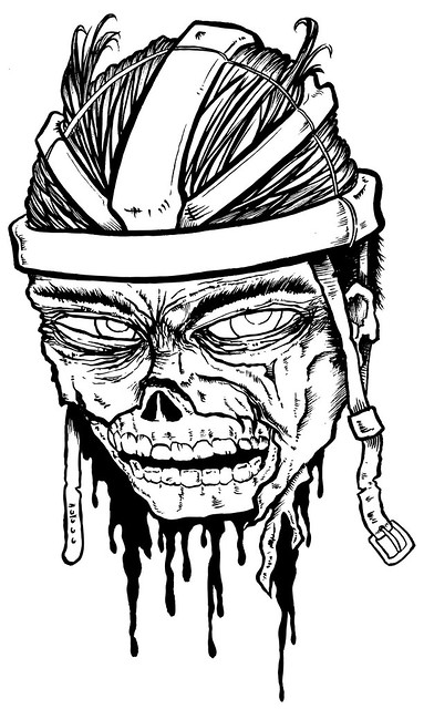 Matt Lolli Zombie Cyclist