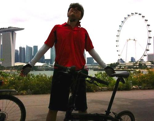Ivan Chew's first ride