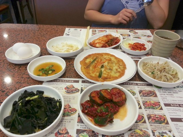 Korean SIde Dishes!