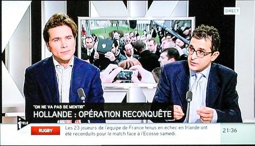 """Arash Derambarsh,¨Président du Club """"Courbevoie 3.0"""" en débat à I>Télé avec Geoffroy Didier by Arash Derambarsh"""