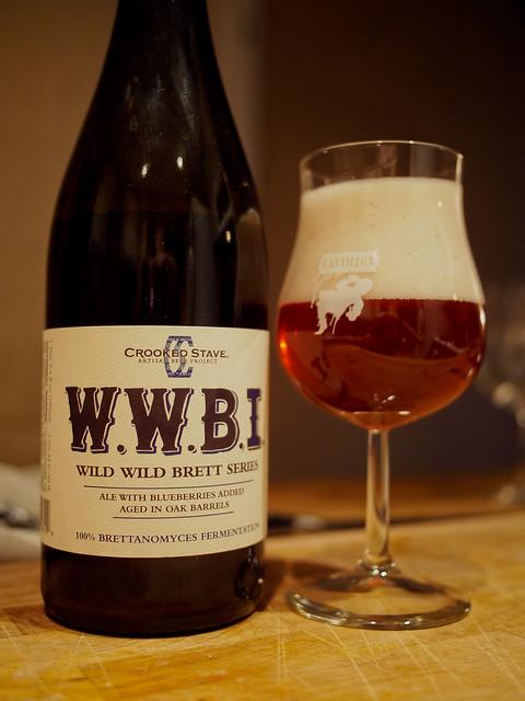 Crooked Stave Wild Wild Brett Indigo (WWBI)