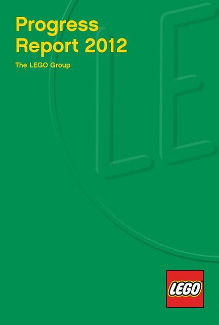 LEGO Progress Report 2012 cover