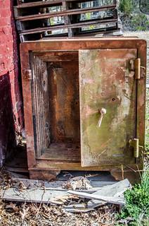 Old Safe at Hodges Depot