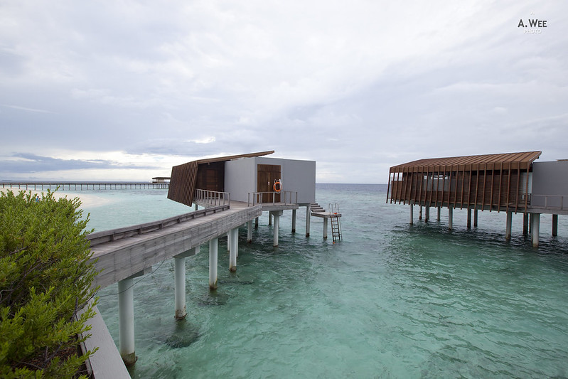 Over-water Villas