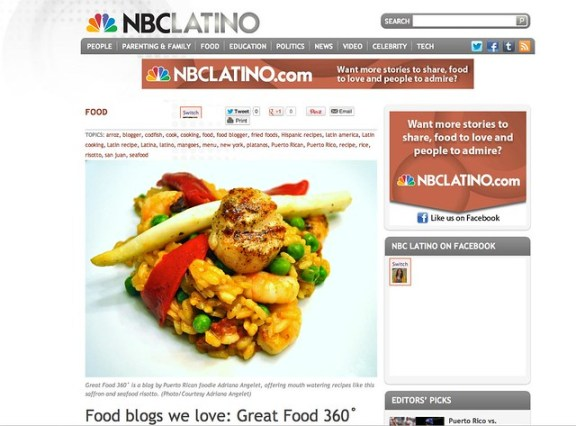 NBC Latino: Food Blogs We Love